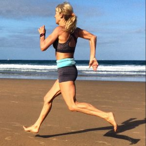 Julia Chi Taylor - Beach Running - 22nd July 2017